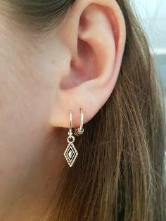 verlobungsring doppelring 43 Creative Silver Boho Ear Piercing Ideas To Inspire You Double Earrings, Simple Earrings, Statement Earrings, Silver Earrings, Diamond Earrings, Pandora Earrings, Diamond Jewelry, Chain Earrings, Silver Jewelry