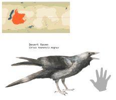 Desert Raven by PLASTOSPLEEN