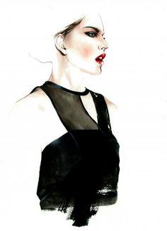 Antonio Soares  - Fashion Illustrations by Antonio Soares  <3 <3
