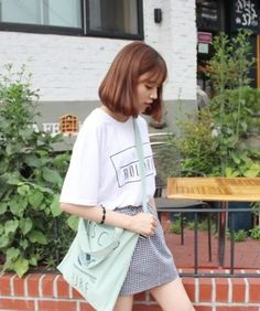 Short hair asian modern style