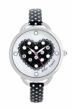 Betsey Johnson Heart Dial Polka Dot Strap Watch Betsey Johnson,http://www.amazon.com/dp/B00ABP71H4/ref=cm_sw_r_pi_dp_ydKstb1S9FAF1AHJ