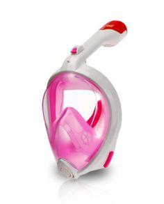 product-shot-AquaMask-II-Full-Face-Snorkel-Mask-white-pink-01