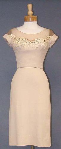Vintage Beige Peggy Hunt dress