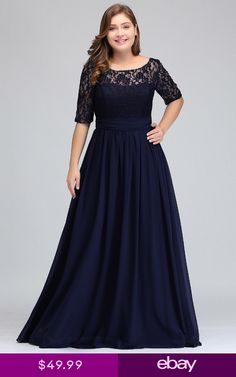 <img> Cheap party evening dresses 2018 Mother of the Bride dresses Chiffon Lace Plus size Long Evening gown Backless dress with Bow Plus Size Long Dresses, Bridesmaid Dresses Plus Size, Trendy Dresses, Fashion Dresses, Prom Dresses, Bride Dresses, Fall Dresses, Summer Dresses, Half Sleeve Dresses