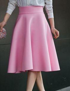 Lady Like High Waist Skirt (6 Colors)