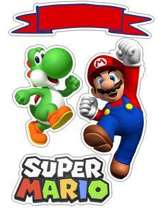topo de bolo super mario #bolomario #bolosupermario #festamario #mariobros Super Mario Bros, Mario Bros Cake, Super Mario Birthday, Mario Birthday Party, Super Mario Party, Super Mario Brothers, Birthday Ideas, Bolo Do Mario, Bolo Super Mario