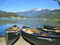 Canoeing in Whistler