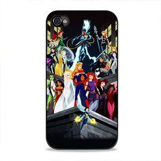 Disney Princesses As Superheroes iPhone 4, 4s Case