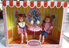 1965 Sundae Treat - Tutti & Todd - # 3556 - in box - Barbie