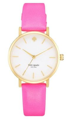 Pink is always a good idea | Kate Spade watch