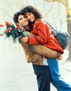 Michael Nouri & Jennifer Beals in Flashdance (1983)