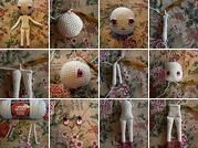 These are the tutorials for making my Free Spirit Amigurumi Doll.  There are five tutorials in all