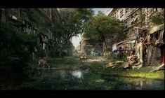 abandoned_city_speedpainting.jpg 1,510×900 pixels