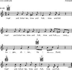 Kopf und Schulter - Kinderlieder und Singspiele | Labbé Verlag