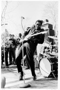 Buddy Guy, Cambridge, MA, April 1968 by Blues Magazine