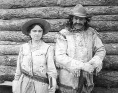 The first film depiction of Calamity Jane.  In the Days of '75 and '76 was made in Nebraska in 1915 and starred A. J. Johnson and Freda Romine as Wild Bill Hickok and Calamity Jane.