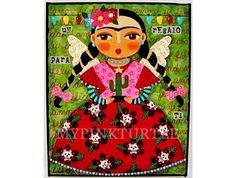 He encontrado este interesante anuncio de Etsy en https://www.etsy.com/es/listing/155723444/frida-kahlo-cactus-fiesta-8-x-10-giclee