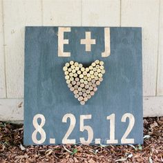 great idea to make a smaller version for the save the date notices and inexpensive