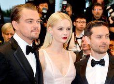 Leonardo DiCaprio, Carey Mulligan and Tobey Maguire