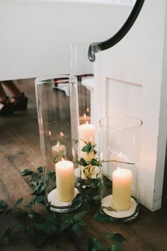 Candle decor: http://www.stylemepretty.com/little-black-book-blog/2015/02/09/casual-elegance-in-santa-rosa-beach/ | Photography: W&E - http://wephotographie.com/