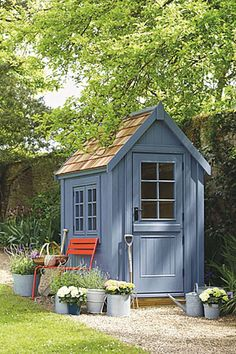 Small Wooden Shed