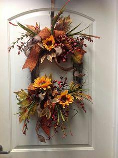 Foto: #Fall door #decorations