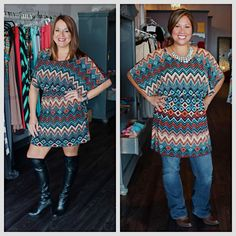 Colorful fall tunic - $37 Sizes S-XL email jen@jendaisy.com, call 317-889-1150, or message us on facebook to order!