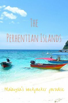 How to get there, what to do and why the Perhentian Islands in Malaysia are the ultimate backpacker paradise! • All That Happens