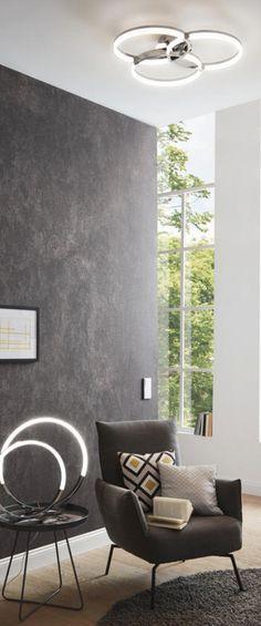 Led-deckenleuchte Lampen  Leuchten Pinterest - led leuchten wohnzimmer
