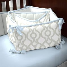 Navy And White Nautical Crib Comforter
