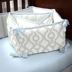 Navy And White Nautical Crib Comforter