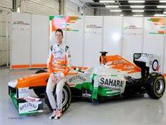 Sahara Force India unveils upgraded version of VJM06 car