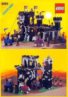 Lego Castle sets were the best! VintageClassic Lego Castle sets were the best! Vintage Lego, Chateau Lego, Lego Burg, Pc Minecraft, Instructions Lego, Best Lego Sets, Big Lego, Classic Lego, Lego Boxes