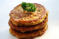 Chickpea Cakes 1 (15-ounce) can chickpeas, drained and rinsed 1/4 cup flat-leaf parsley 1 large egg 1/2 cup low-fat plain Greek yogurt (I use Voskos) 2 tablespoons low-fat milk 2 cloves garlic, minced 1/2 teaspoon salt 1/4 teaspoon black pepper 1/2 teaspoon smoked paprika 1/2 teaspoon cumin 1/4 teaspoon cayenne pepper 1/4 cup whole-wheat flour 1/4 cup olive oil for frying