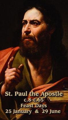 Happy Solemnity of Sts Peter and Paul – Teachers and Preachers – June 29 Paul (died C67) #pinterest #stspeterandpaul If the most well-known preacher today suddenly began preaching that the United States should adopt Marxism and not rely on the Constitution, the angry reaction would help us understand Paul's life when he started preaching.........
