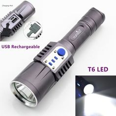 10000 Lumen World\'s brightest 7x CREE XM-L2 LED Flashlight ...