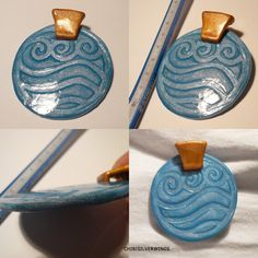Great example of Katara's necklace pendant. I can do this!