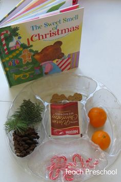 Sweet Smell of Christmas book and activity By Teach Preschool