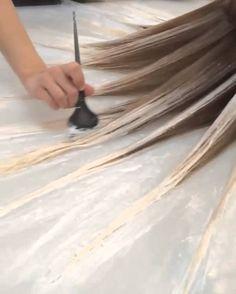 Fluid Hair Painting Via @Mermicornhair KL Christoffersen