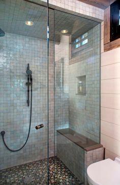 Small bathroom in a contemporary design