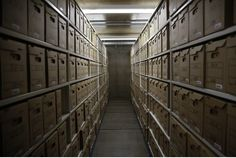 The Truth and Reconciliation Commission has been looking through documents stored at the Library and Archives Canada Preservation Centre in Gatineau.