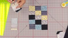 Crossing Paths: How To Stitch Up Tiny Squares The Easy Way Sewing Ideas, Sewing Projects, Missouri Star Quilt, Quilting Tutorials, Quilt Blocks, Squares, Paths, Doll, Quilts