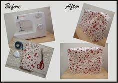 DIY Capa para máquina de costura