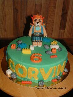 Lego Torten - Laval der Löwe von Lego Chima