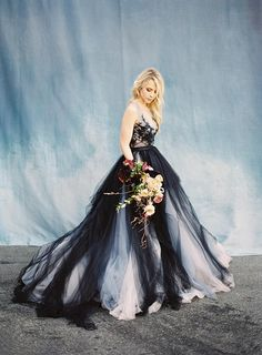 Gorgeous Long Ball Gown Lace Tulle Modest Charming Princess Prom Dresses Quinceanera, SFB, This dress could be custom made, there are no extra cost to do custom size and color. Lace Wedding Dress, Black Wedding Dresses, Tulle Wedding, Ivory Wedding, Colored Wedding Dress, Lace Weddings, Mermaid Wedding, Elegant Dresses, Bridal Gowns