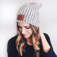 "9f8fc4a5eee Taylor Brown The Styled Press on Instagram  ""Snow storm and high of 5  degrees all weekend  Time to whip out my trusty  loveyourmelon beanie!"