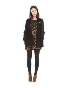 Higuana cardigan. Warm me up cardigan with highneck and side pockets for warm, cosy evenings. #loveisessentiel