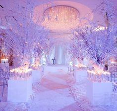 winter wonderland forest wedding | Winter Wonderland Wedding. | Once upon a wedding....