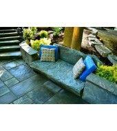 Outdoor Stone, Stone Bench, Outdoor Furniture Sets, Outdoor Decor, Grey Stone, Home Decor, Decoration Home, Room Decor, Interior Decorating