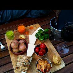 Rural Lanzarote lunch